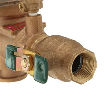 Bronze Reduce Pressure Zone Assembly Backflow Preventer, 1 in. FPT x FPT