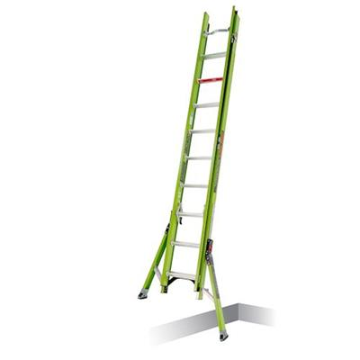 Ladder, KING KOMBO Professional, 4' - ANSI Type IAA - 375 lb rated, fiberglass 3-in-1 all-access combination ladder with rotating wall pad accessory, 1 Unit