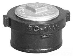 8in NO-HUB END C/O ( WITH SOUTHERN CODE PLUG )
