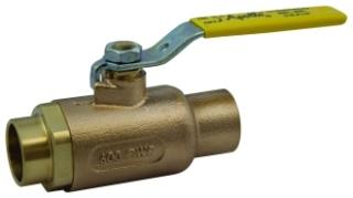 70-206-01 1-1/4in APOLLO BRONZE COP 600WOG BALL VALVE (Not for potable water)