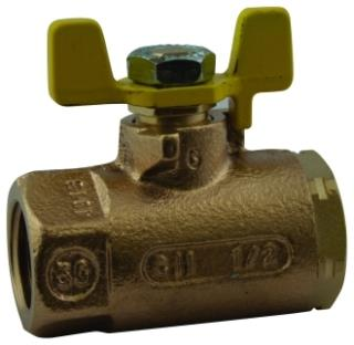 51-GB3-01 1/2in CONBRACO BRONZE IPS GAS APPROVED BALL VALVE