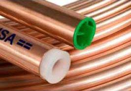 FT 1in (X20) TYPE-L COPPER Tubing