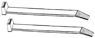1847011 11in CABLE TIES BAG OF 100