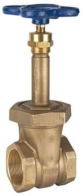 T-134 2in IPS RS GATE 150LB NIBCO BRONZE