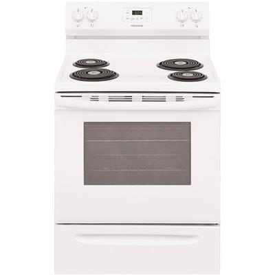 Frigidaire 30 In. 5.3 Cu. Ft. Electric Range With Manual Clean In White