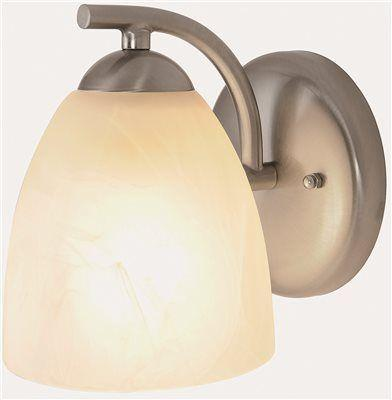 Monument 1-light Brushed Nickel Bath Light