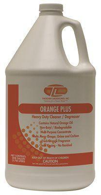 Theochem Laboratories Orange Plus 1 Gal. Multi-purpose Cleaner (4-pack)- Priced As Each