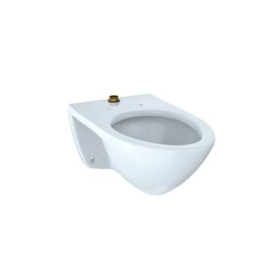 TOTO 1.28 gpf Elongated Wall Mount One Piece Toilet in Cotton, 1 Unit