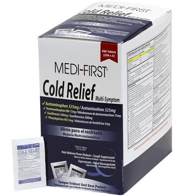 Cold Relief, 50/2 packs